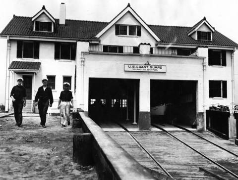 "June 10, 1931: A Coast Guard ""life saving station"" opens in Wilmette."