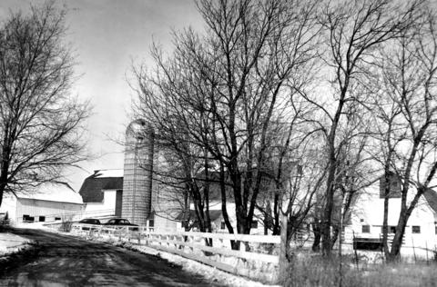 Feb. 17, 1967: Former dairy barn, caretaker's cottage and adjacent buildings now serve as a community center for residents of Hoffman Estates. The estate once belonged to Arthur Hammerstein, former Broadway musical producer.