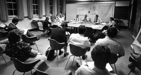 Sept. 29, 1986: Glen Ellyn village trustees conduct a planning session where board president Michael Formento argued the need for a $20 million capital improvement program.