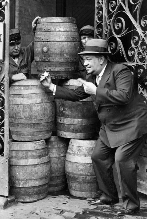 John G. Weisbach of the Prima Company releases the first truckload of six-percent beer in December of 1933.