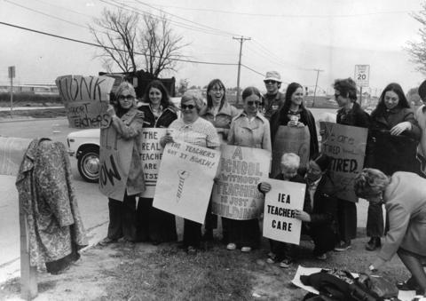 May 22, 1973: Teachers of the Queen Bee School go on strike for higher salaries. On this day, the school board fired 82 teachers after they refused the latest pay raise offer. Parents circulated petitions demanding the resignations of the board. Schools remained open during the strike with the help of substitutes, though attendance dropped 50 percent.