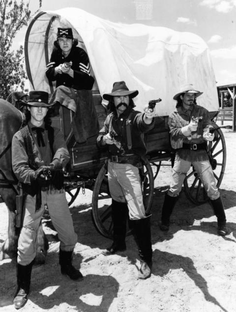 Aug. 22, 1997: Gunslingers itchin' for a fight can be found at Wild West Days at Naper Settlement.