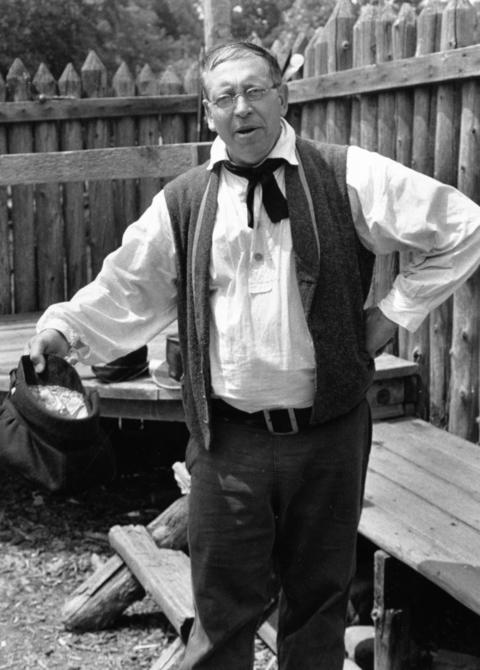 June 15, 1992: Bill Buchinger portrays Joe Naper, the ship's captain from Ohio who founded the settlement in 1831 that became Naperville.