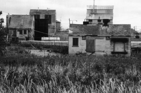 Oct. 19, 1995: Shacks on the Joliet Arsenal site could surrender to nature if the land were to become a national tall-grass prairie. Francis Harty of the Illinois Department of Natural Resources said a former ordnance bunker would shelter bats.