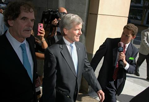 Staff Photo Of The Week: July 26-Aug 1, 2014      Former Virginia Gov. Bob McDonnell enters Federal District Monday on the first day of his trial to face corruption charges. Gov. McDonnell and his wife Maureen both stand accused of accepting lavish gifts and loans from Johnnie Williams knowing he wanted something in return.