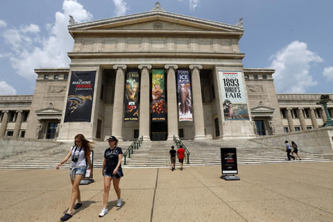 The Field Museum, one of Chicago's biggest attractions.