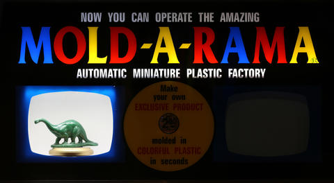 Need a plastic dinosaur? The Mold-A-Rama will create one while you wait.