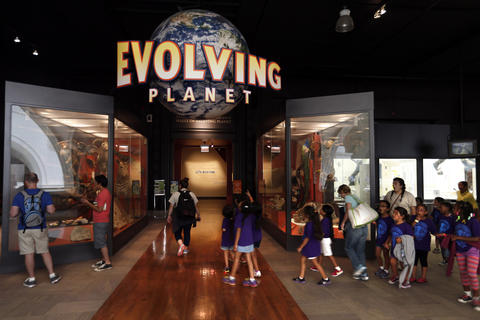 The Evolving Planet exhibit at the Field Museum.