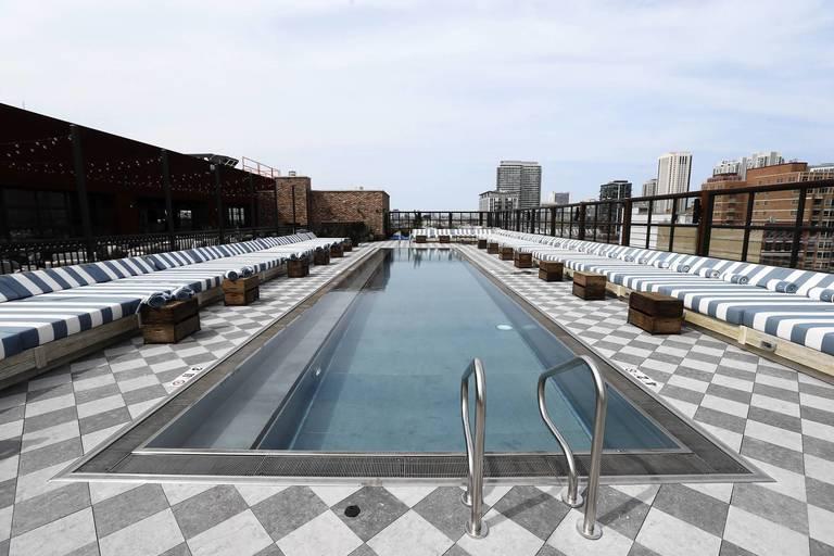 Infinity Pool Chicago soho house chicago chicago tribune