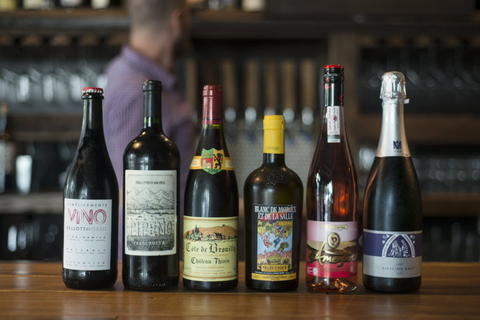 A variety of small family owned and ethically farmed wines available by the glass, two-ounce pour and bottle at Webster's Wine Bar, 2601 N. Milwaukee Ave. in Logan Square.