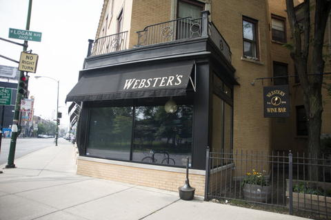 Webster's Wine Bar, 2601 N. Milwaukee Ave. in Logan Square.