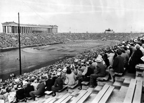 The Chicagoland Music Festival held at Soldier Field in Aug. 1948.