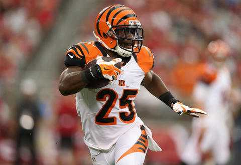 The Ravens have a tough opener. Their front seven will be tested by Giovani Bernard, and the secondary won't have much time to get used to game action after missing the whole preseason. I think Joe Flacco and Co. will score points, but not enough to top the Bengals here.