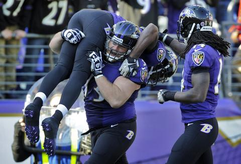 The debut of Gary Kubiak's offense is a success and the Ravens' defense holds the Bengals to field goals on some key drives. I think the Bengals will be the better team by season's end, but the Ravens, in front of their home crowd, will be better this Sunday.