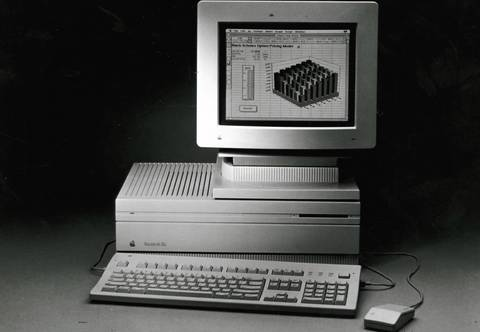 Macintosh IIfx was the fastest member of the Mac family at the time with a price tag of around $9000 in 1990.