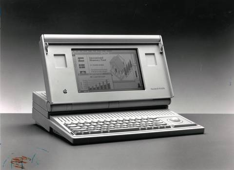 In 1989, the first Macintosh Portable was released.