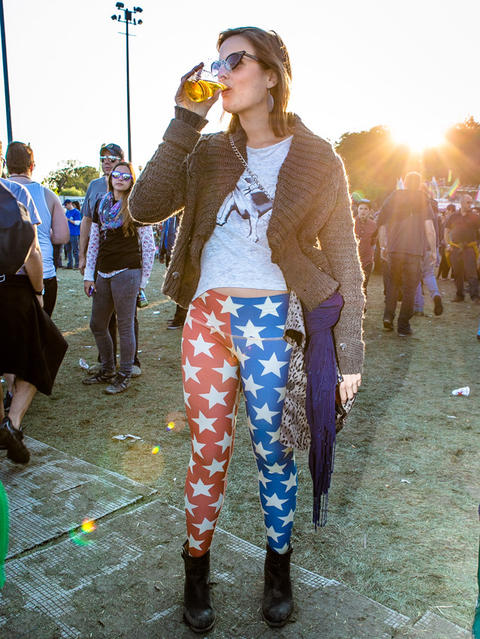 Alexandra Hochhauser, 26, West Town at Riot Fest on Sunday, September 14, 2014. (Hilary Higgins for RedEye)