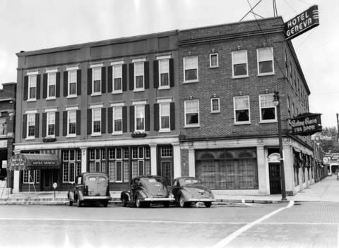 Sept. 25, 1940: The Hotel Geneva.