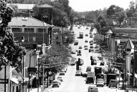 June 20, 1984: A view of the bridge going into St. Charles.