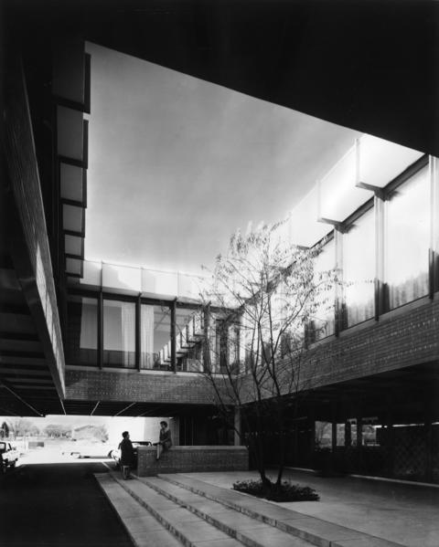 April 9, 1965: The award-winning architecture at Decoral Corporation, located at 444 E. Courtland St., shown here in 1965.