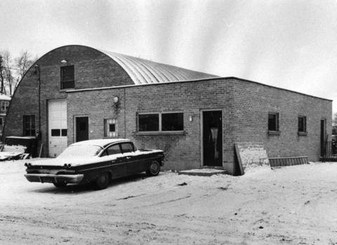 Jan. 2, 1968: Mundelein's new Teen Recreation Center at 418 N. Morris St., in 1968. The front portion of the center, which is operated by teens, doubles as a warming shelter for guests of a nearby skating rink.