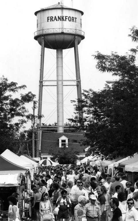 Sept. 2, 1990: Drawing over 150,000 visitors over three days, Frankfort's annual Fall Festival is a hit.