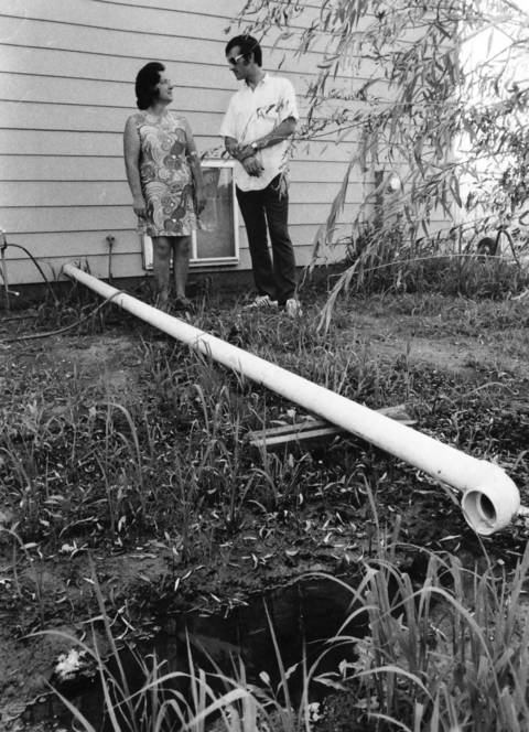 July 29, 1972: Homeowners in a new housing development in Bolingbrook complain about the shoddy workmanship in their homes and the failure of the developers to repair the defects.