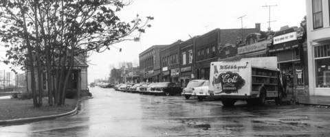 Nov. 27, 1953: Downtown Western Springs.