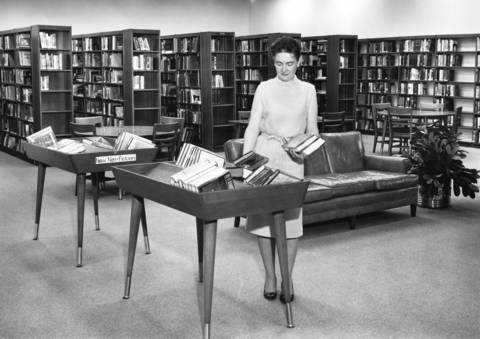June 6, 1963: The new addition to the Thomas Ford Library in Western Springs.