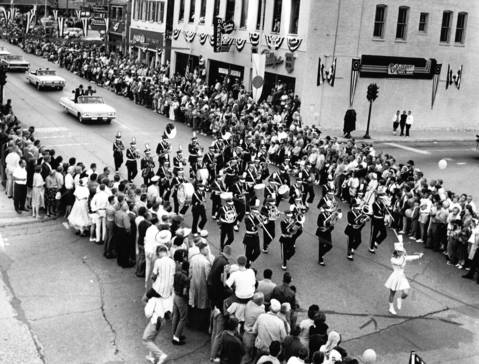 Aug. 14, 1963: An estimated 30,000 people came to watch Barrington's centennial parade.