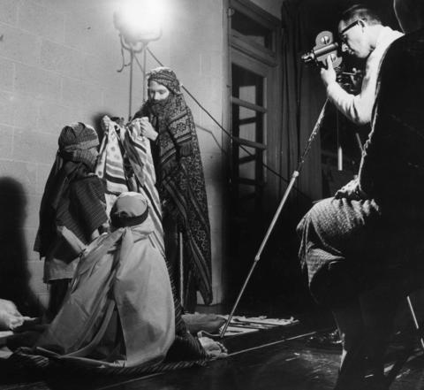 June 15, 1958: Young actors portray the Bible story of Joseph and his brothers for Jack Richards' movie camera as part of Glenview Community Church's efforts to get kids excited about Sunday school.