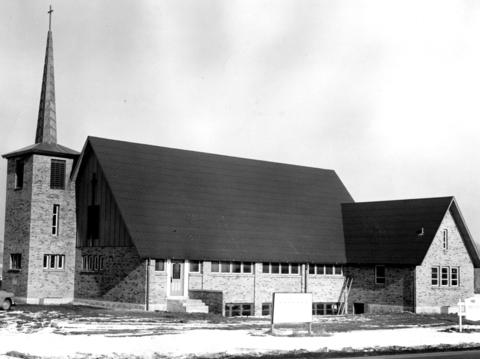 Jan. 19, 1958: The $107,000 Episcopal Church of the Holy Nativity in Clarendon Hills boasts a 65-foot tower and steeple. The church's first worship services were set for the following Sunday.