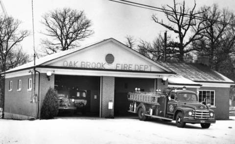 Feb. 8, 1962: The Oak Brook Fire Department.