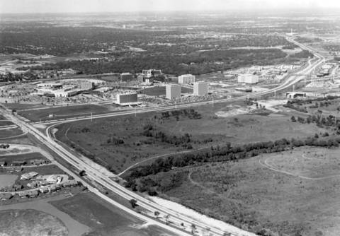 Aug. 25, 1972: An aerial shot of Oak Brook.
