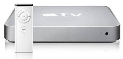 Apple TV, which came out in 2007 played iTunes music and movies on a TV screen.