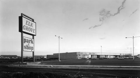 Oct. 15, 1959: Elk Grove Shopping Center at Higgins and Arlington Heights roads.