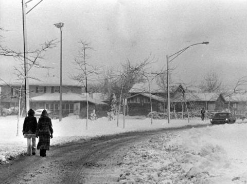Dec. 14, 1973: Six inches of snow blanketed Elk Grove Village and the surrounding communities.