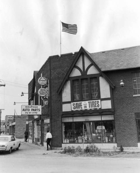 Nov. 12, 1969: A picture of Midlothian Auto Parts, 3824 W. 147th St.
