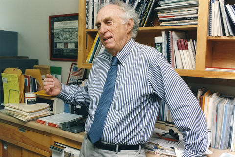 The Nobel prize-winning physicist proved the existence of the tau lepton, a particle that exists for trillionths of a second. His discovery helped fill a gap in the standard model of particle physics. He was 87.