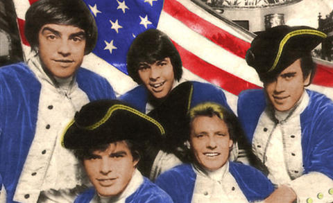 A mid-1960s shot of Paul Revere and the Raiders. Revere, second from the right, died on Oct. 4 of cancer at his home in Idaho.