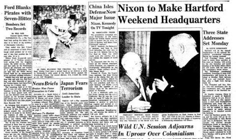 In one of his most memorable outbursts, the fiery Soviet Premier Nikita Khrushchev beat a shoe on the desk and called a fellow delegate a jerk and a stooge on Oct. 12, 1960, during a United Nations session over Western colonialism. The wild U.N. session came to an end when Assembly President Frederick H. Bold, of Ireland, shattered his gavel due to the strength of his blows while bringing the session to an end.