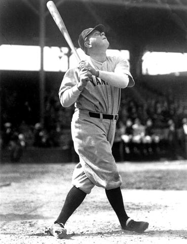 The Bambino was born on Emory Street in Baltimore; his father ran a saloon on Camden Street (near the current centerfield at Oriole Park at Camden Yards) and the Babe spent some 10 years at St. Mary's Industrial School for Boys in West Baltimore before signing with the minor-league Orioles in 1914. Sure, he earned his fame in Boston and New York, but once a Baltimorean, always a Baltimorean.