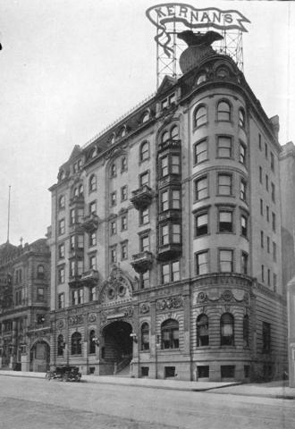 Opened in 1903 as the Hotel Kernan (pictured), this glorious six-story French Renaissance Revival-style building may be the most historic entertainment venue in the city. Charlie Chaplin and Fred Astaire are said to have performed here; Henry Fonda and Margaret Sullavan got married here. Its fabled basement club, The Marble Bar, served as the epicenter of Baltimore's punk and new wave music scene in the 1970s and '80s, welcoming acts from Muddy Waters and Papa John Creach to The Ramones and R.E.M.