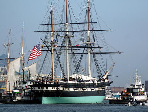 We used to think this was the oldest ship in the U.S. Navy, dating to 1797. Turns out it isn't, but it's still old -- built in 1855 -- and proudly welcomes visitors to the Inner Harbor, where it's been berthed since 1968.