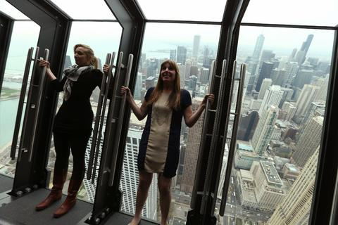 Thursday, Oct. 30: TILT AND TREAT More than 1,000 feet above Michigan Avenue you can find thrills that don't have anything to do with Halloween  candy stations open at 4 p.m. (Through Sunday.)Cost: $18, $12 for kids 3-11.