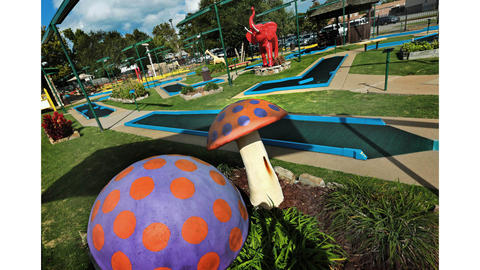 Play A Round Golf and Games will close and relocate after decades at its Hilton Village location. The facility has 54 holes of miniature golf over three courses, arcade games and a snack bar with pizza and ice cream.
