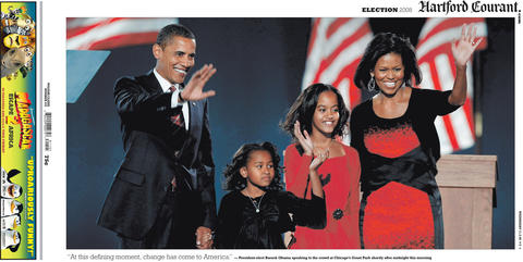 On Nov. 4, 2008, Barack Obama became the first African-American to be elected President of the United States.