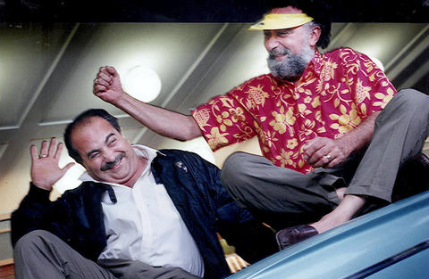 "Brothers Ray Magliozzi, left, and Tom Magliozzi, hosts of National Public Radio's ""Car Talk"" show."