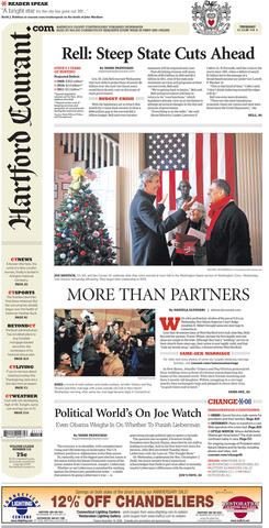 On Nov. 12, 2008, Connecticut became the third state to legalize same-sex marriage when the state Supreme Court found that an earlier civil unions law did not offer same-sex couples the same rights as heterosexual couples.