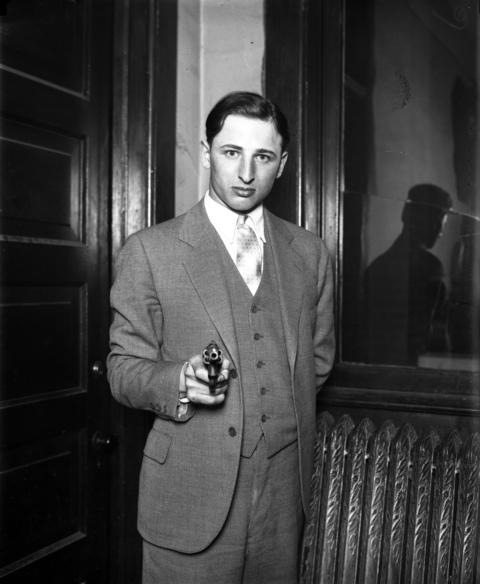 """On April 28, 1929, policeman Sidney Block of the South Chicago district, off duty and in plain clothes, shot and killed a well-dressed young gunman who'd held up two 63rd Street shops. According to the Tribune, Block yelled """"Halt there, I'm a policeman"""" as he drew his gun. """"Go to hell,"""" cried the robber over his shoulder as Block pumped three bullets into the thief, which stopped him dead."""